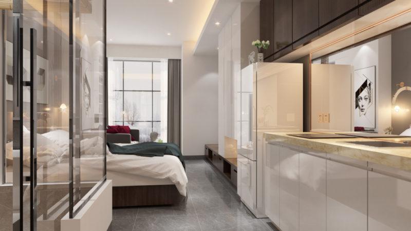 Moderní byty vKarlíně